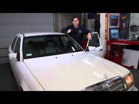 Mercedes W201 and W124 Car Alarm Problems by Kent Bergsma