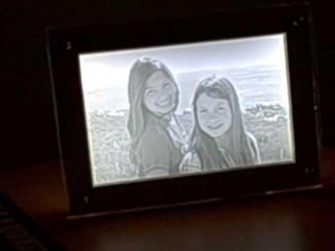WatchDesign 3D LED Lithophane Photo frame