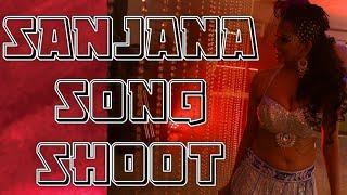Sanjana Singh New Song   Shooting Spot    Yellow Green Tv