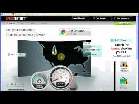 Luxul - Internet Connection Speed Test