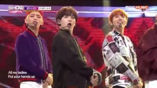 [1080P] 161019 BTS - 21st Century Girl Stage