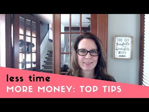 How to Increase Your Income: More Money in Less Time