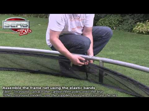 How To Install a Berg Toys In Ground Trampoline