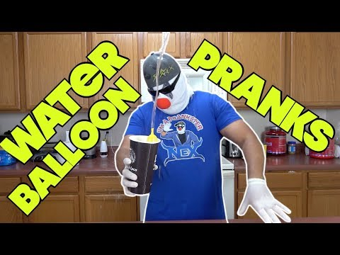 Water Balloon Pranks That Will Get People Wet -  HOW TO PRANK