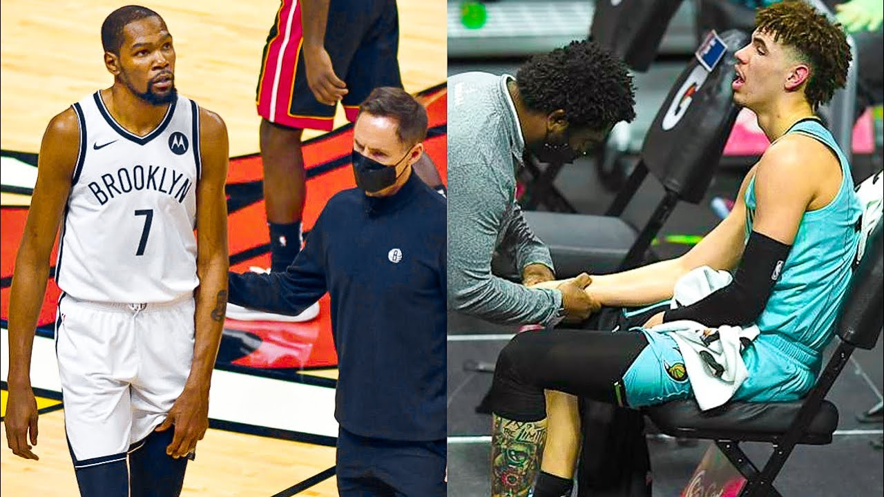 """NBA """"Too Painful! - Injuries of 2021"""" MOMENTS - Part 2"""