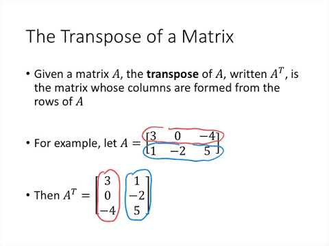 Linear Algebra - Lecture 22 - Properties of Matrix Multiplication