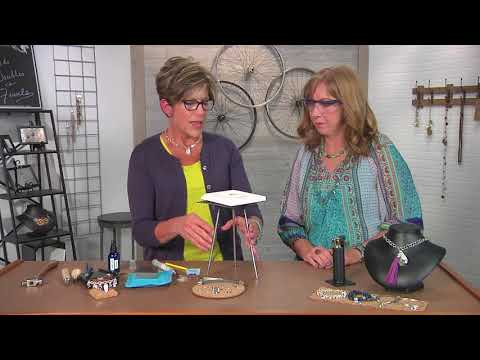 How to solder using premade bezel blanks on Beads, Baubles and Jewels with Tammy Honaman (2607-4)