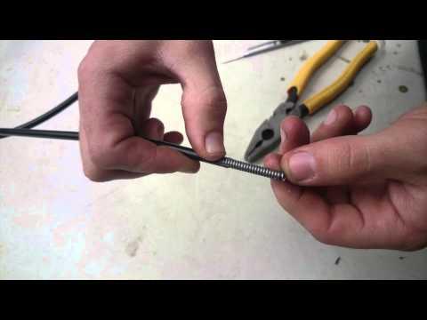 PushMowerRepair.com - Heavy Duty Throttle Cable Installation