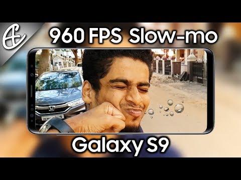 Galaxy S9 960 FPS Super Slow-mo - A Close Look!