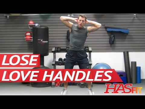 Get Rid of Love Handles Workout | BEST Oblique Exercises | Lose or Loose Love Handles HASfit 120611