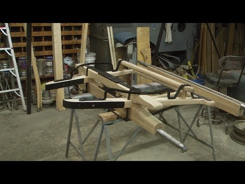 Sheep Wagon Undercarriage, From Scratch, Front Axle, #2