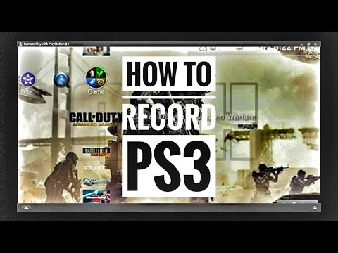 How To Record PS3 Gameplay Using PC Method (2018)