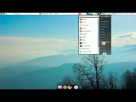 Start Menu For Gnome Panel - Ubuntu 9.04