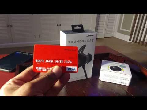 FiOS Rewards Card Purchase - Bose SoundSport - Chromecast Audio