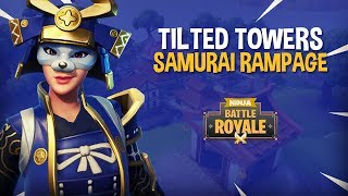 Tilted Towers: Samurai Rampage!! - Fortnite Battle Royale Gameplay - Ninja