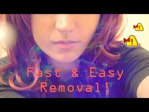 Fastest Way to Remove Septum Clicker!!