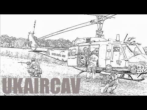 CRHnews - Vietnam War re-enacters UKAIRCAV at Damyns Hall 2013