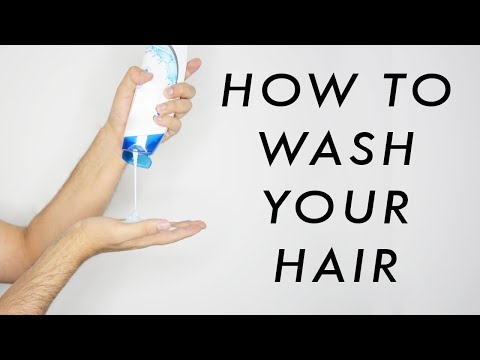 How To Correctly Wash Your Hair - Prevent Hair Fall - Healthier Looking Hair   ✖  James Welsh