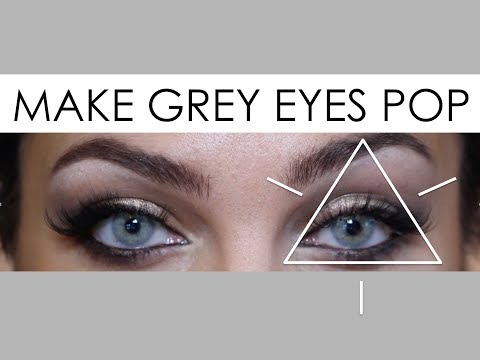 How to Make Grey Eyes/Contacts Pop feat. Cocktail - Martini Grey//OLIVE SKIN