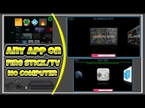 How To Get STREaM On Amazon Fire Stick & Fire TV! NO PC! FREE!