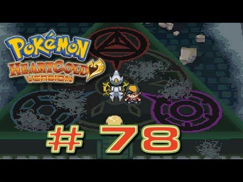 Pokémon HeartGold - # 78 ( Ruinas Alfa / Sinjoh - Arceus de Evento + Dialga , Palkia y Giratina )