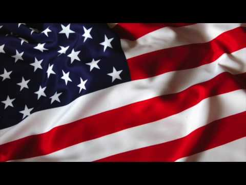 USA ANIMATED FLAG 1 HOUR for videos,presentations,screensaver **free use**