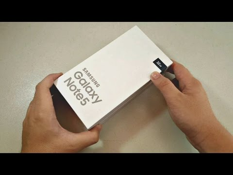 Samsung Galaxy Note 5: Unboxing & First Impressions!