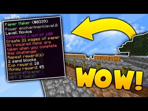 COMPLETING ANOTHER CHALLENGE on Minecraft SKYBLOCK | Minecraft Skyblock #4