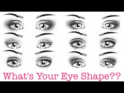 How To: Determine Your Eye Shape!! + Makeup Tips & Tricks