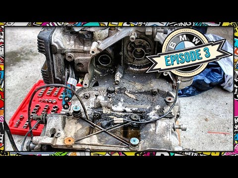 Ep 03] 1986 BMW K100 Cafe Racer Project - Extreme Cleaning