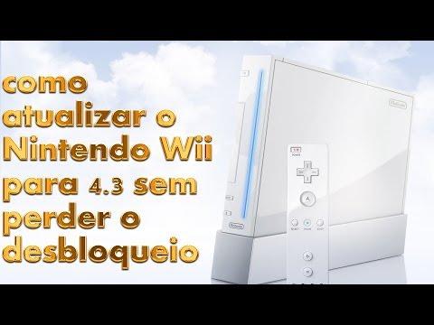 Nintendo Wii Como atualizar para 4.3 sem perder o desbloqueio