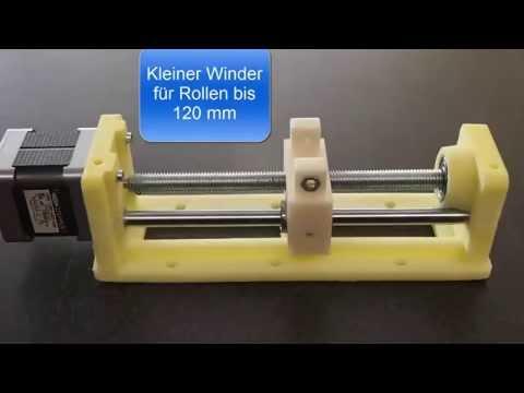 Filament Extruder mit Winder und Aufwickelvorrichtung