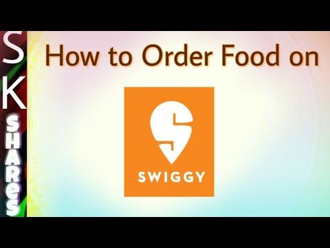 How to order food item on Swiggy and using PhonePe