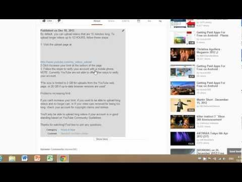 How To Put Clickable Links/URLs in your YouTube Description December 2013