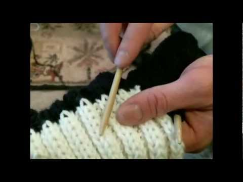 TygahTalk® Episode 1 - Join Two Knit Colors On a Row Without Wrong Side Stitches Showing