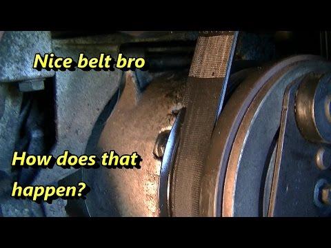Ford Focus Serpentine Belt Problems
