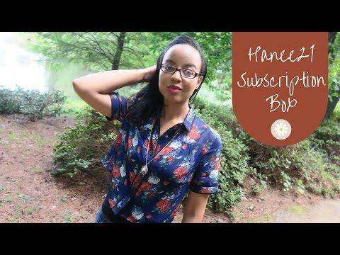 Hanee21 Subscirption Box | #SSSVEDA Day 15