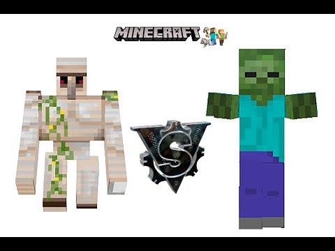 Minecraft Zombies VS Iron Golem (The Savior) Theory