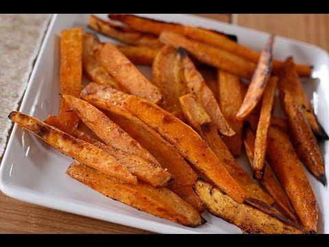 Healthy Bodybuilding Crispy Sweet Potato Fries