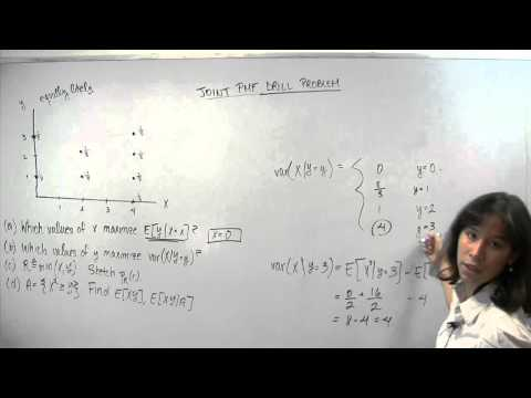 Joint Probability Mass Function (PMF) Drill 1