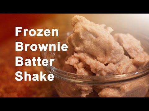 Frozen Brownie Batter Shake