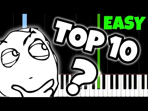 Top 10 Songs Everyone Knows but nobody knows the name of... And How To Play Them!