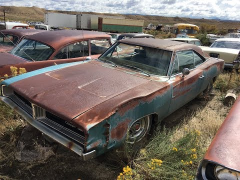 part 1 of 1969 turquoise big block  dodge charger from the junkyard to the streets ratmuscle style