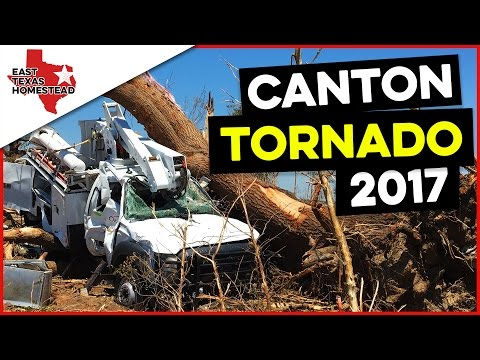 Canton Texas Tornado - April 29, 2017 Disaster Relief - An Amazing Story of Survival and Providence