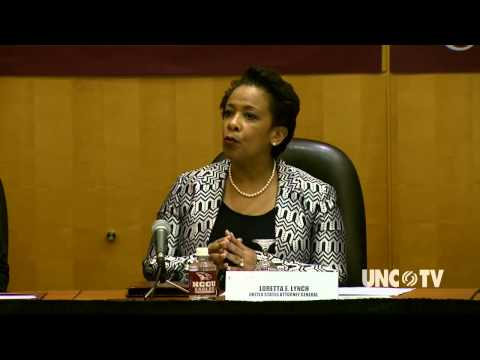 US Attorney General Loretta Lynch at NC Central University | NC Now | UNC-TV
