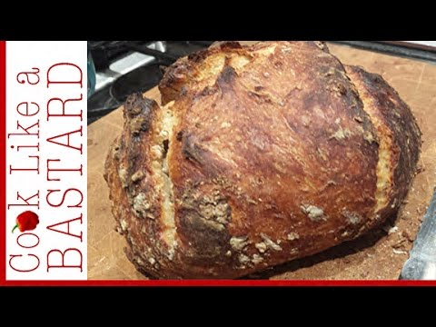 How to make Easy No Knead Bread
