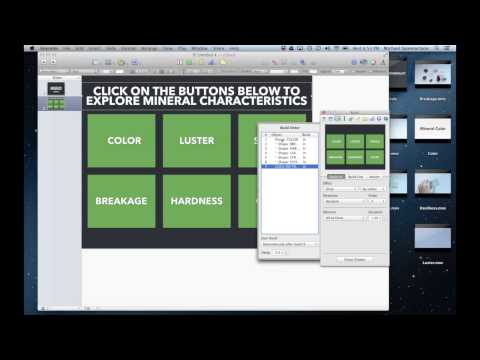 Apple iWork Keynote Tips and Tricks: Creating a Linked Presentation for use in a Classroom