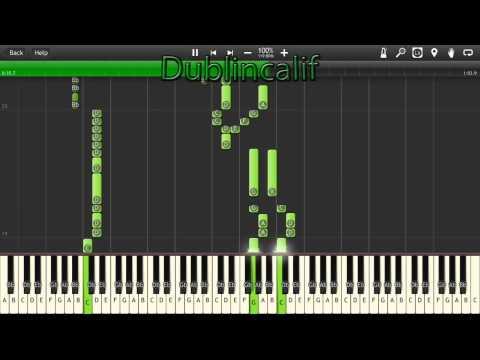 Castlevania Vampire Killer Theme Piano Tutorial Synthesia