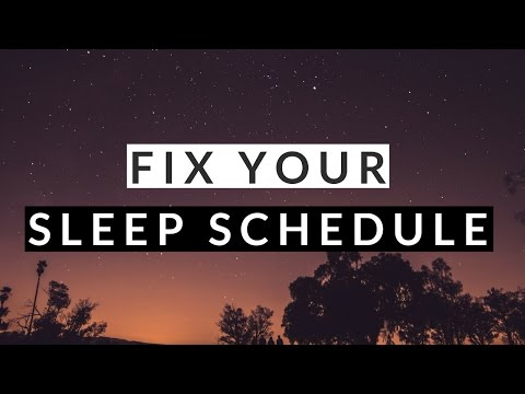 How to Fix Your Sleep Schedule in 3 Steps