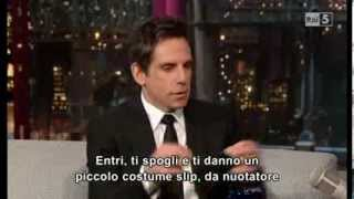 Ben Stiller David Letterman Show 181213 Sub Ita